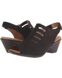 Comfortiva - Faye (smoke Distressed Foil Suede) Women's 1-2 Inch Heel Shoes - Lyst