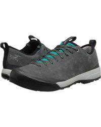 Arc'teryx - Acrux Sl Leather Approach (black Sapphire/ion) Women's Shoes - Lyst