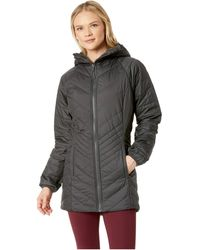 The North Face Mossbud Insulated Reversible Parka - Gray