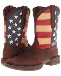 Durango - Db5554 - Flag (dark Brown) Cowboy Boots - Lyst