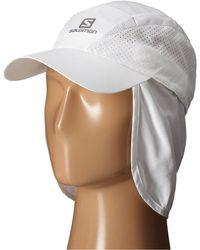 Yves Salomon - Xa+ Cap (white) Caps - Lyst