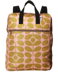 Orla Kiely - Sixties Stem Packaway Backpack - Lyst