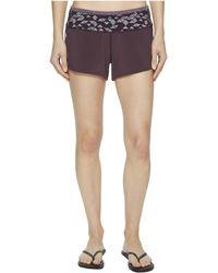 Smartwool - Phd(r) Printed Shorts (deep Navy) Women's Shorts - Lyst