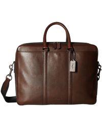 COACH - Metropolitan Commuter (qb/black) Bags - Lyst