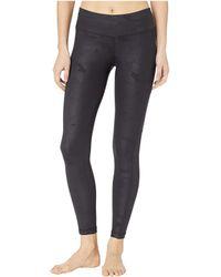 Hard Tail High-waist 7/8 Pocket Leggings Casual Pants - Black