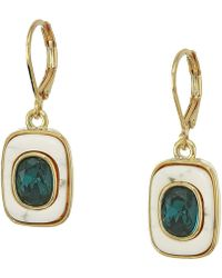 Vince Camuto - Lever Drop Earrings - Lyst