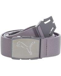 PUMA Ultralite Stretch Belt - Gray