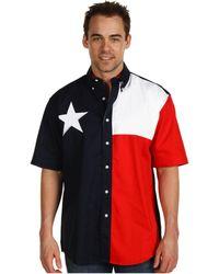 5fc02afdb2 Lyst - Denim   Supply Ralph Lauren Chambray Cowboy Flag Shirt in ...