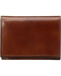 Bosca - Old Leather Collection - Double I.d. Trifold - Lyst