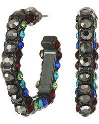 133fadbc3 Rebecca Minkoff Safety Pin Earring in Metallic - Lyst