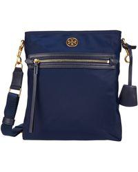 Tory Burch Piper Swingpack Handbags - Blue
