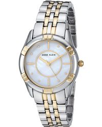 Anne Klein - Ak-3171mptt (two-tone) Watches - Lyst