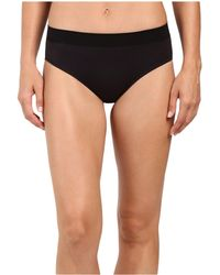 Jockey - Modern Micro Seamfree(r) Hi Cut (black) Women's Underwear - Lyst