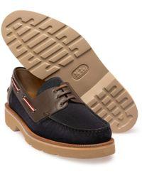Bally Normann/36 Boat Shoe - Multicolor