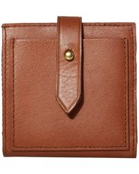 Madewell Bifold Post Wallet - Brown