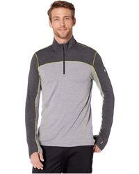 Smartwool Merino Sport 250 Long-sleeve 1/4-zip Top - Gray