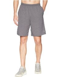 Champion - Classic Jersey Shorts (granite Heather) Men's Shorts - Lyst