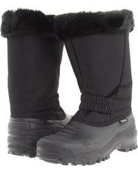 Tundra Boots - Augusta (black) Women's Work Boots - Lyst