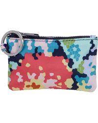 Vera Bradley Reactive Zip Id Case - Multicolor