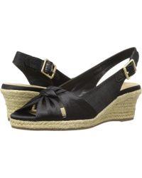 Bella Vita - Seraphina Ii (navy Silk) Women's Shoes - Lyst