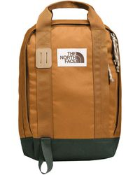The North Face Tote Pack Backpack Bags - Brown