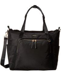 Tumi - Voyageur Madrid Duffel (black/silver) Duffel Bags - Lyst