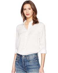 Vince - Slim Fitted Blouse Blouse - Lyst
