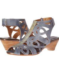 Spring Step - Flourish (denim Blue) Women's Sandals - Lyst