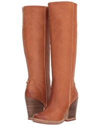 Timberland - Marge Tall Slouch Boot (nine Iron) Women's Zip Boots - Lyst