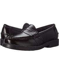Nunn Bush - Lincoln Penny Loafer (black Polished Leather) Men's Slip-on Dress Shoes - Lyst