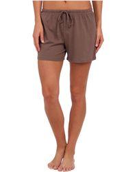 Jockey - Cotton Essentials Boxer (taupe) Women's Pajama - Lyst