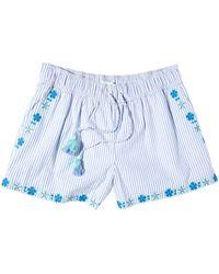 Vineyard Vines Pop Emb Pull-on Shorts - Blue