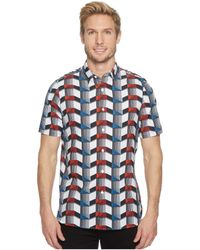 Perry Ellis - Pe360 Printed Total Stretch Shirt - Lyst