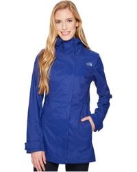 The North Face - City Midi Trench (sodalite Blue) Women's Coat - Lyst