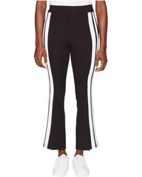 The Kooples - Jogging Trousers With Ecru Sequins On The Side (black) Women's Clothing - Lyst