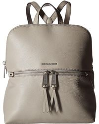 MICHAEL Michael Kors - Rhea Zip Medium Slim Backpack - Lyst