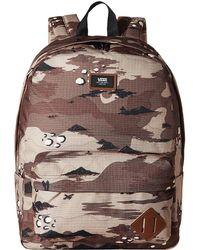 98e3631134ba69 Vans - Old Skool Ii Backpack (storm Camo) Backpack Bags - Lyst