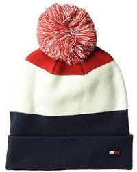 70629408 Polo Ralph Lauren Men's Ski Bear Pom-pom Hat in Red for Men - Lyst