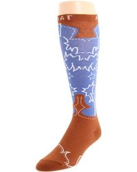 Ariat - Western Boot Sock (pink) Women's Knee High Socks Shoes - Lyst