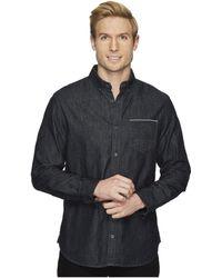 Calvin Klein Jeans   Black Selvedge Denim Shirt   Lyst