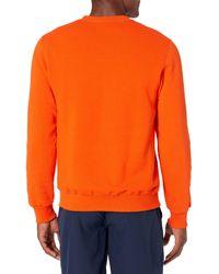 Russell Athletic Dri-power Fleece Sweatshirt - Orange