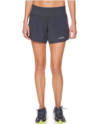 Brooks - Chaser 5 Shorts (asphalt) Women's Shorts - Lyst