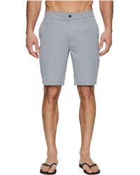 RVCA - Balance Hybrid Shorts (classic Indigo) Men's Shorts - Lyst