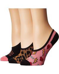 Vans - Animal House Canoodles 3-pack (multi) Women's No Show Socks Shoes - Lyst