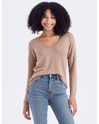Abercrombie & Fitch Long-sleeve V-neck Tee - Multicolor