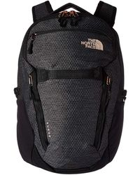 The North Face - Women's Surge Backpack (tnf Black) Backpack Bags - Lyst