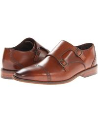 Florsheim - Castellano Monk Strap Oxford (saddle Tan) Men's Shoes - Lyst