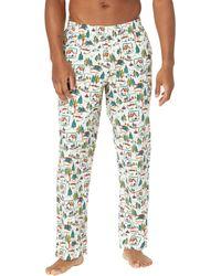 L.L. Bean Comfort Stretch Woven Sleep Pants Regular - Multicolor
