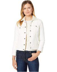Lucky Brand Tomboy Sherpa Jacket - White