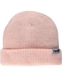 Neff Fold Beanie - Pink